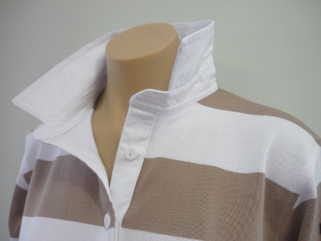 Donkey & White stripe - Plain white trim **$95