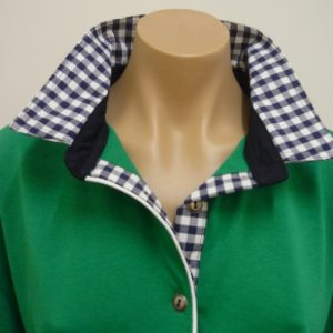 Emerald rugby - navy check
