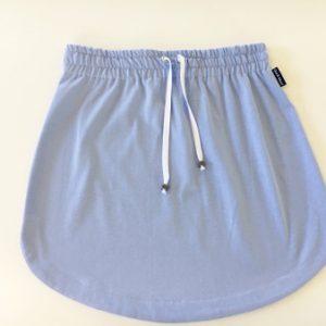 Womens Plain light blue rugby Skirt