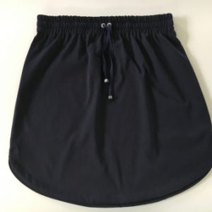 Womens Plain navy rugby Skirt