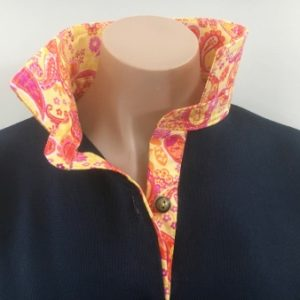 Navy Rugby - Sunshine paisley