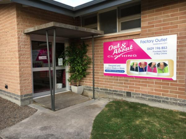 Out & About Clothing | 4 Dugan Street, Keith, South Australia