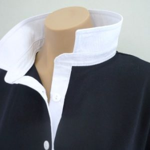 Navy rugby - Plain white trim